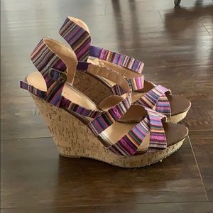 Colorful wedges by Chinese Laundry